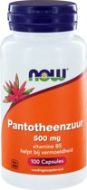 VitOrtho Now Pantotheenzuur 500 mg Capsules 100 st