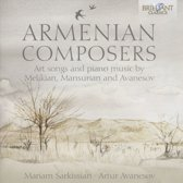 Armenian Composers: Art Songs And P