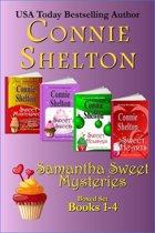 Samantha Sweet Mysteries Boxed Set Books 1-4