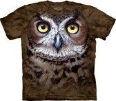 Vogel T-shirt Uil voor volwassenen 40/52 (L)