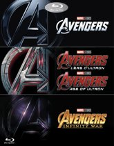 The Avengers 1-3 Boxset (Blu-ray)