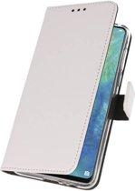 Huawei Mate 20 X Wit | Wallet Case Hoesje  | WN™