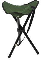 Campingstoel -  driepoot inklapbaar campingkruk - visstoel - strandstoel