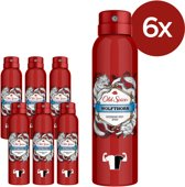 Old Spice Deodorant Body Spray - Wolfthorn - Voordeelverpakking 6x150ml