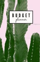 Budget Planner: Monthly Undated Cactus Expense Tracker