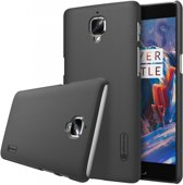 Nillkin Super Frosted Shield Backcover voor de OnePlus 3 - Black