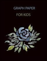 Graph Paper for Kids: Graph paper quad ruled 4*4 per inch composition notebook for kids