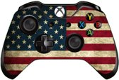 Xbox One Controller Skin Sticker - American Flag Vintage