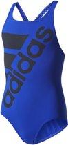 adidas Swimsuit INF  Badpak kind - Maat 140 Kinderen - blauw - zwart
