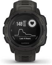 Garmin Instinct GPS - Sporthorloge - leigrijs/zwart - 45 mm