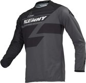 Kenny Crossshirt Track Black/Grey-S