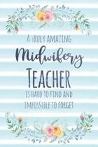 A Truly Amazing Midwifery Teacher Is Hard to Find and Impossible to Forget
