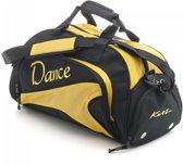 Katz Sporttas Dance Zwart Geel