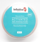 Infinitive Beauty - Rise and Shine Tandpoeder Witte tanden Teeth Whitening Powder 50g
