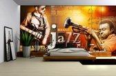 Poster | Bruin , Oranje | 104 x 70,5 cm