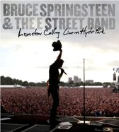 CD cover van Bruce Springsteen - London Calling: Live In Hyde Park (DVD) van Bruce Springsteen