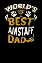 World's Best Amstaff Dad