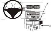 Brodit console mount v. BMW 1-reeks 05-
