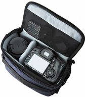 Cameratas voor Spiegelreflex Camera Met Regenhoes - Fototas - Blauw