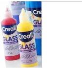 Creall Glass - glasstickerverf wit 1 Fles - 80 Mililiter 20565