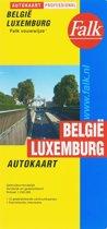 Falkplan - Autokaart Belgie Luxemburg