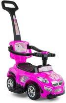 Milly Mally Happy Loopwagen Prinsesauto Roze