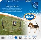 Puppy Ren Met Deur & Net & Haken