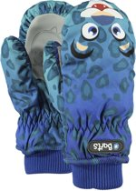 Barts Nylon Mitts Kids Unisex Wanten - Leopard Blue - Maat 3 (circa 4-6jaar)