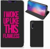 Xiaomi Mi 9 Hoesje met tekst Woke Up