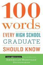 Omslag van '100 Words Every High School Graduate Should Know'