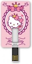 Tribe Hello Kitty 8GB USB 2.0 Type-A Roze, Wit USB flash drive