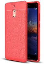 Just in Case Nokia 2.1 Back Cover Soft TPU Rood