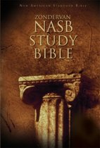 NASB, Zondervan NASB Study Bible, Hardcover, Red Letter Edition