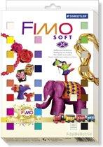 Fimo soft set - etui 24 halve blokken Nostalgia