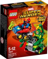 LEGO Super Heroes Mighty Micros Spider-Man vs. Scorpion - 76071