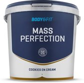 Body & Fit Mass Perfection - 4400 gram - Cookies en Cream Milkshake - Whey protein / Eiwitshake