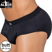 Alter Padded Butt Slip - Zwart - Small