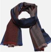 Wollen Heren Sjaal – 100% Wol - Shawl Mannen - 187cm - Edition 2