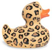 Luxury LEOPARD (new design 2017)  Duck van Bud Duck: Mooiste Design badeend ter Wereld