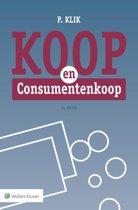 Boek cover Koop en consumentenkoop van P. Klik (Paperback)