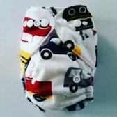 NB14 Newborn wasbare Pocket luier auto