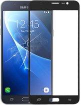 Let op type!! Voorkant scherm buitenste glazen lens voor Galaxy J7 (2016)  J710F  J710FN  J710M/MN  J7108 (wit)
