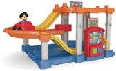 Fisher Price Little People Race Helling Garage Speelgoed Garage
