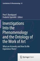Investigations Into the Phenomenology and the Ontology of the Work of Art