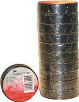 MMM zelfkl tape Temflex 1500, PVC, zw, (lxb) 25mx25mm, UV-bestendig