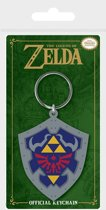 The Legend of Zelda - Hylian Shield Rubber Keychain
