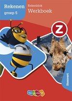 Z-Rekenen groep 5 Rekenblok Werkboek Stenvert
