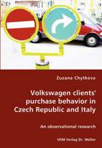 Volkswagen Clients' Purchase Behavior in Czech Republic and Italy