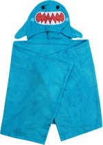 Zoocchini kids badcape 100% katoen - Sherman the Shark