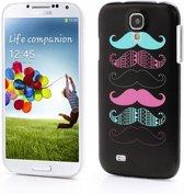 Samsung Galaxy S4 i9500 Hard Case Moustache